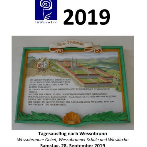 2019, Tagesfahrt Wessobrunn